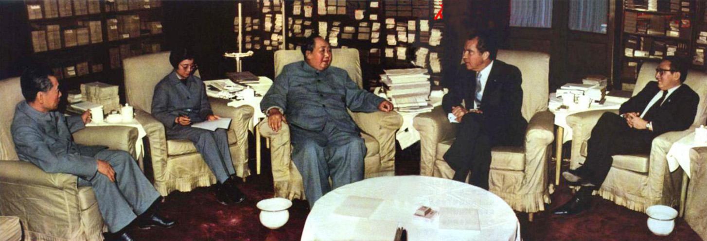 中国与美国建立外交关系