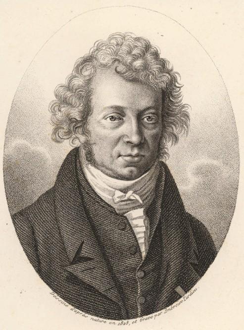 法国著名物理学家安培出生