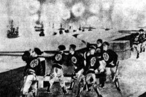 八国联军攻占大沽炮台