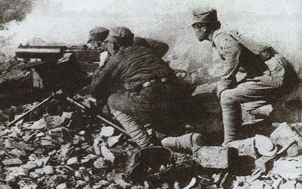 武汉会战开始