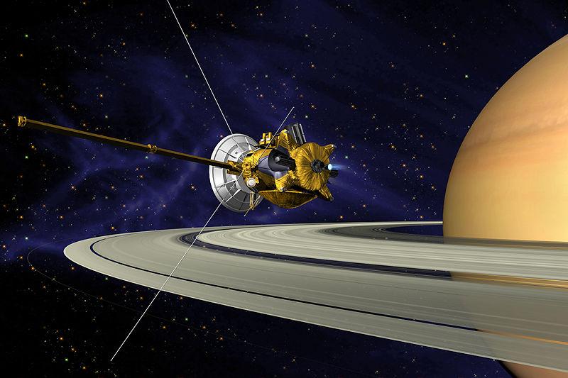 卡西尼—惠更斯号掠过土卫九