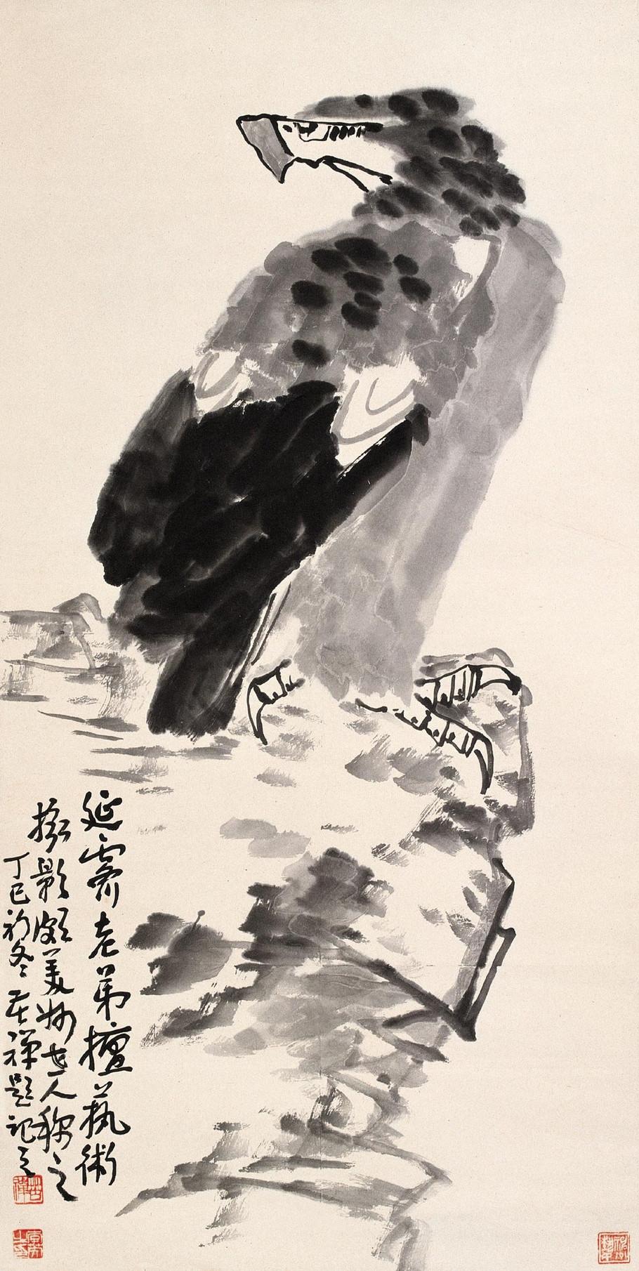 1983年6月11日,画家李苦禅逝世.图片