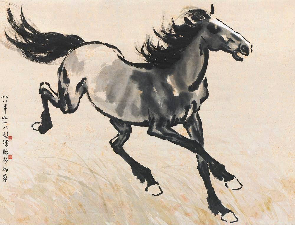 徐悲鸿的马