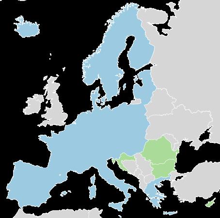 欧洲5国签署《申根协定》