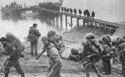 马岛战争结束,英军重占该岛