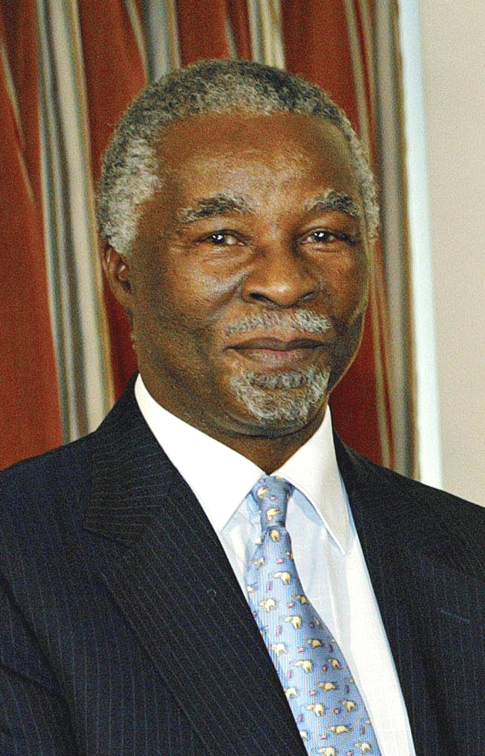 姆贝基当选南非新总统