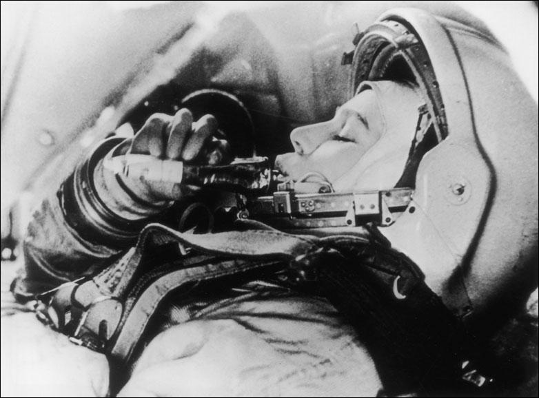 苏联第一位妇女进入太空