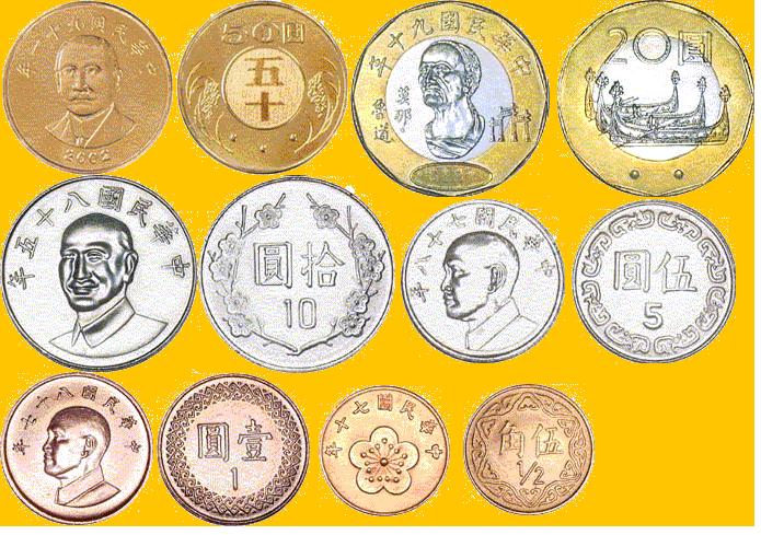 新台币正式发行