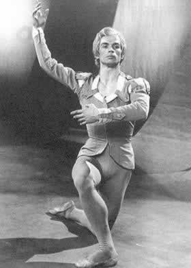 苏联舞蹈家纽瑞耶夫叛逃西方