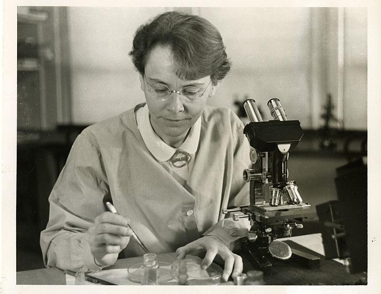 美国科学家巴巴拉·麦克林托克出生