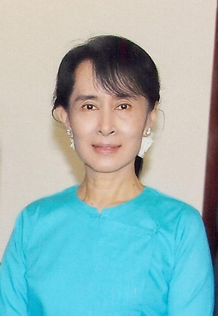 緬甸女革命家昂山素季获释 昂山素季