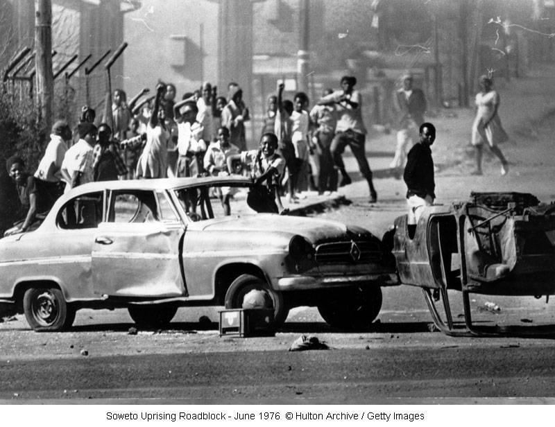 南非索韦托发生大规模骚乱