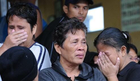 菲律宾一艘载有700多名乘客和船员渡轮沉没