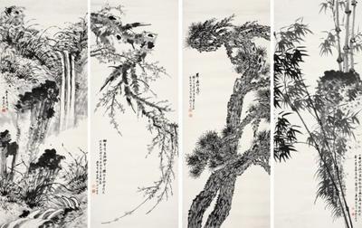 中国现代中国画家、美术史家秦仲文去世