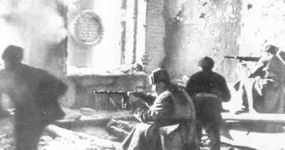 斯大林格勒大会战开始