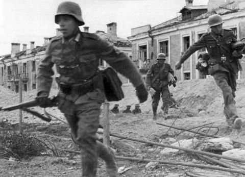 斯大林格勒战役爆发