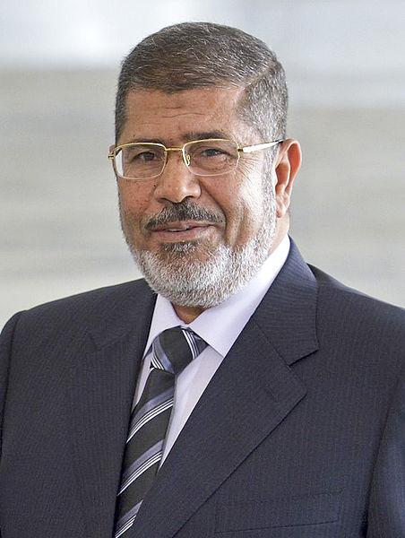 2012年埃及总统选举结束 穆罕默德·穆尔西当选