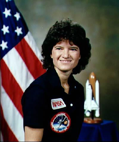 美国第一位女性进入太空