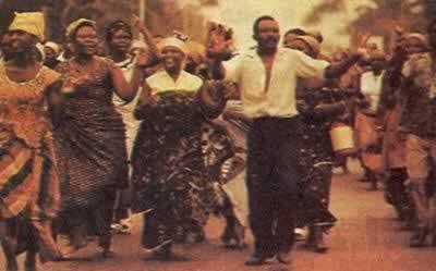 卢蒙巴成为刚果总理
