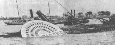 纽约一轮船失火693人丧命