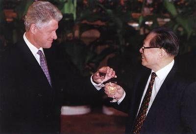 1998年:美国总统克林顿访华
