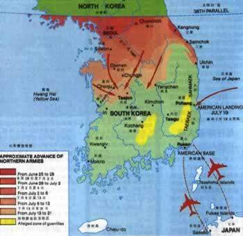 朝鲜战争爆发