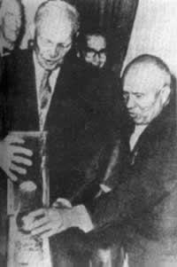 艾森豪威尔提出企图控制中东的侵略扩张计划