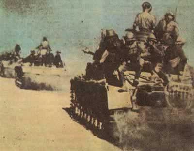 二战 德国攻入埃及