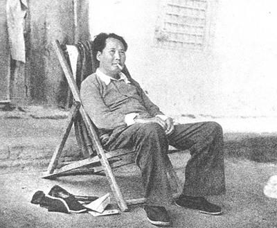 毛泽东等到达西柏坡