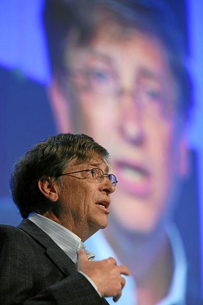 比尔盖茨退出微软,并将把580亿美元财产全数捐作慈善 比尔盖茨