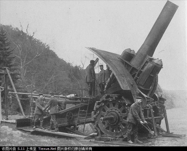 贝尔塔巨炮轰击巴黎