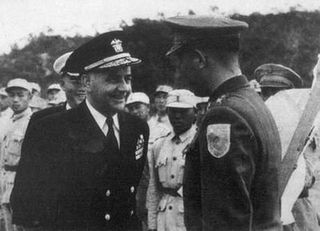 美国第七舰队进驻台湾海峡