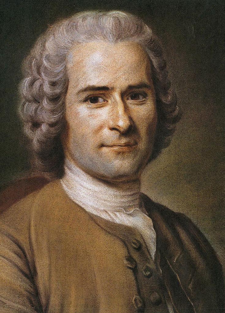 法国启蒙主义思潮的代表人物卢梭逝世