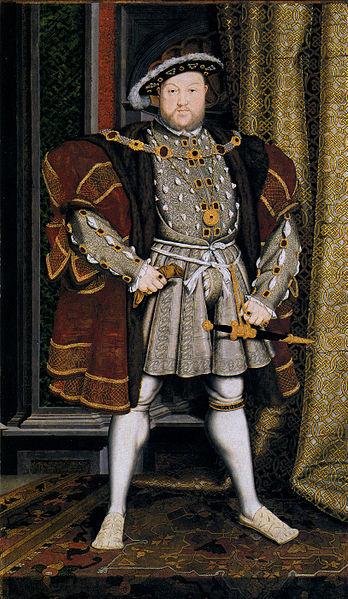 英格兰国王亨利八世逝世