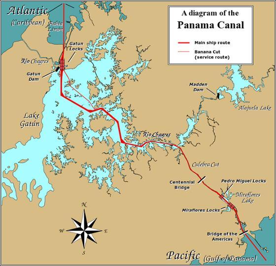 巴拿马宣布与美国断交,要求归还巴拿马运河的所有权