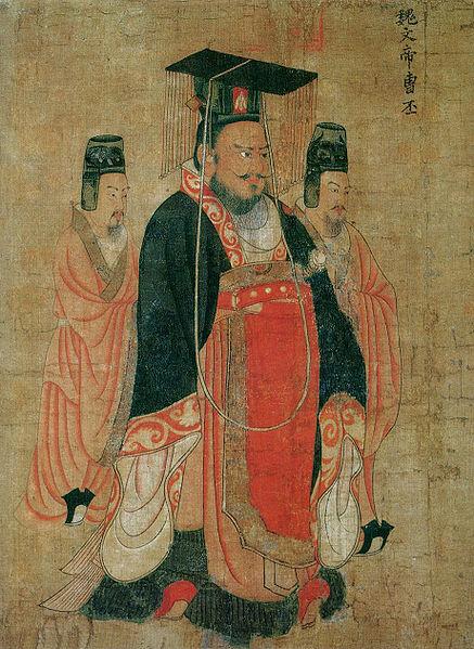 东汉献帝禅位,曹丕当上皇帝,改国号为魏
