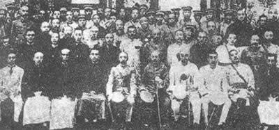 张作霖吴佩孚联合组建北京政府