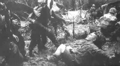 越战美军周伤亡数字达到最高点