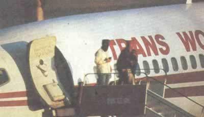 贝鲁特劫机事件结束