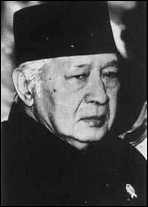 苏哈托再次当选印尼总统