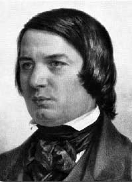 德国作曲家舒曼逝世