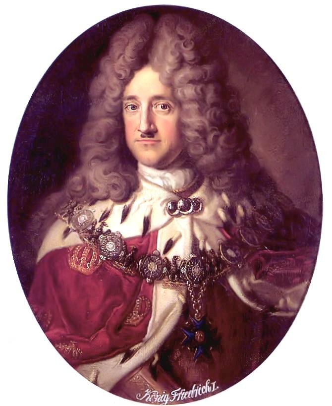 腓特烈一世成为普鲁士第一位国王
