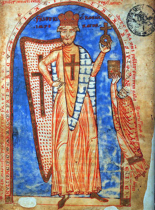 神圣罗马帝国皇帝红胡子腓特烈一世逝世
