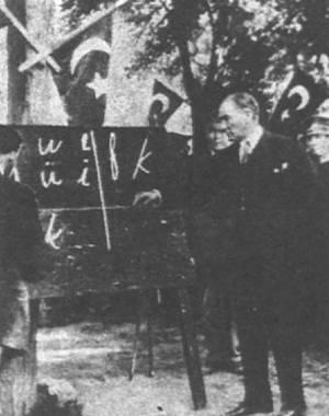 凯末尔在土耳其推行改革