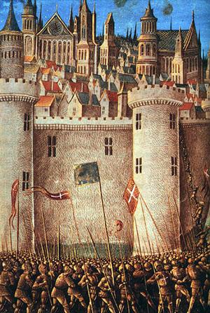 十字军洗劫君士坦丁堡