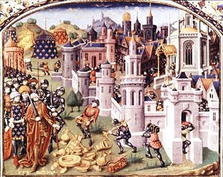 十字军第一次东征攻克耶路撒冷