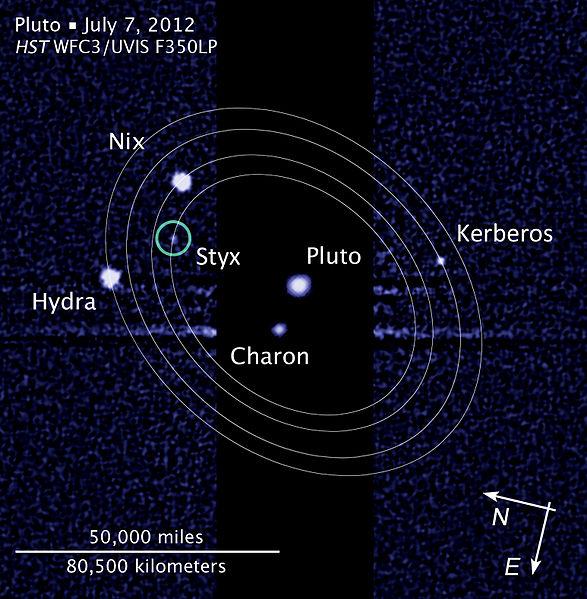 冥卫五被发现