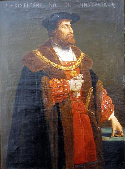 丹麦、挪威和瑞典国王克里斯蒂安二世出生