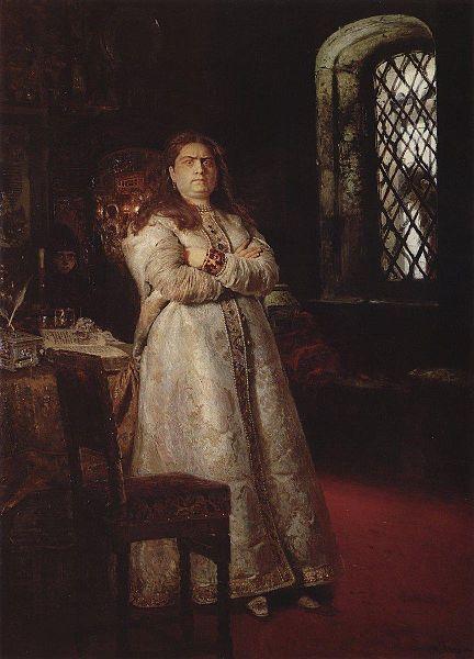 俄罗斯女摄政索菲亚·阿列克谢耶夫娜逝世