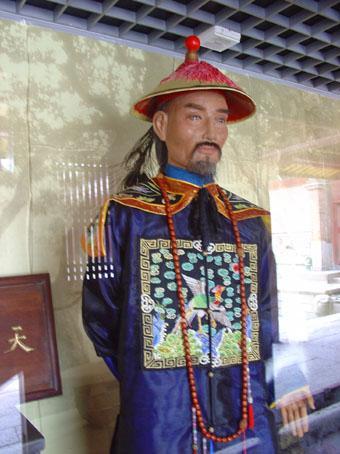清朝漕运总督施世纶逝世